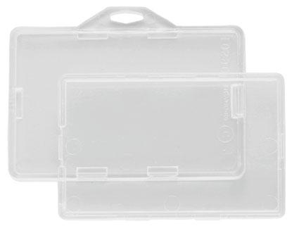 rigid plastic badge holders rigid plastic card holders rigid plastic card dispensers smart card badge holders - Plastic Card Holder